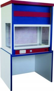Laminar Air Flow with Special Features and Stand Support